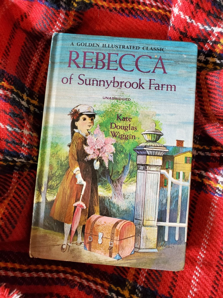 A copy of Rebecca of Sunnybrook Farm.