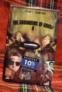 """Image of the new edition book jacket of  of the book, with a sticker on it that says """"Borders Discount 10% off publisher's list price."""""""